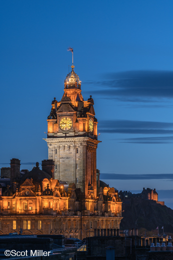 Fine photographic print of Edinburgh, Scotland by Scot Miller, at Sun to Moon Gallery